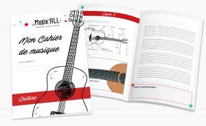Cahier de guitare Musik'All