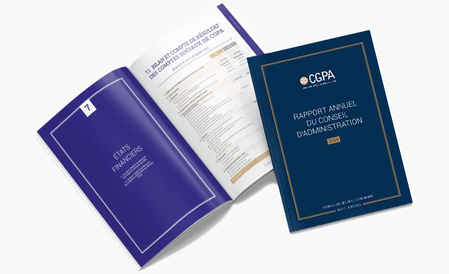 Rapport d'activité 2019 CGPA