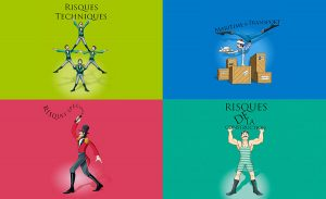Illustrations campagne presse Albingia