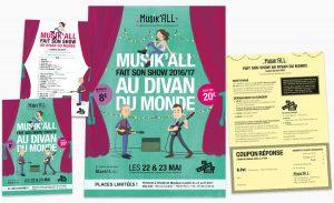 Concert de fin d'année 2017 Musik'All