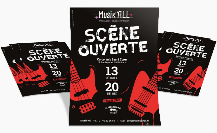 Scène ouverte Musik'All