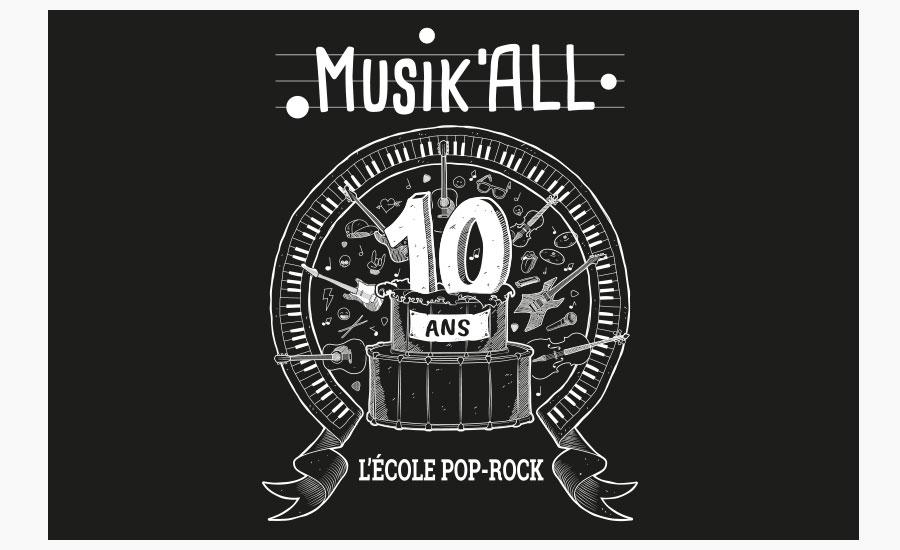 Sticker 10 ans