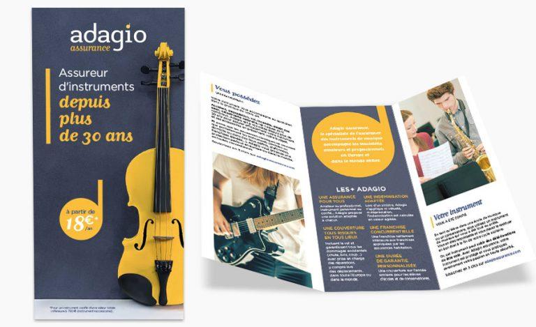 Plaquette commerciale Adagio