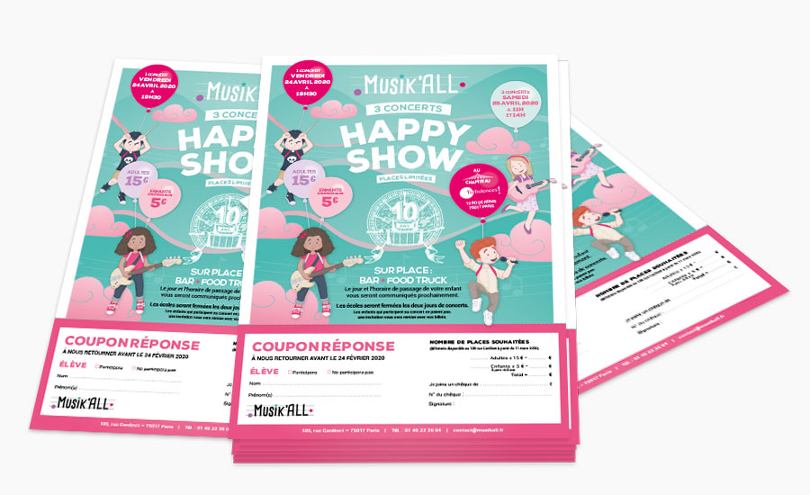 Flyer Happy Show 2020
