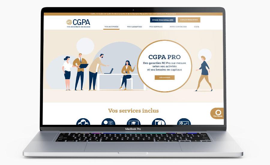 Site institutionnel CGPA