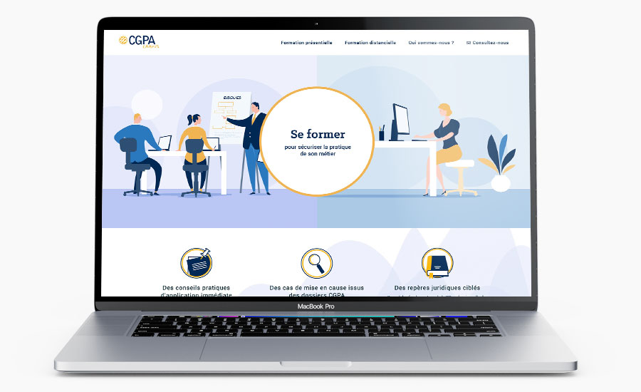 Site institutionnel CGPA Campus